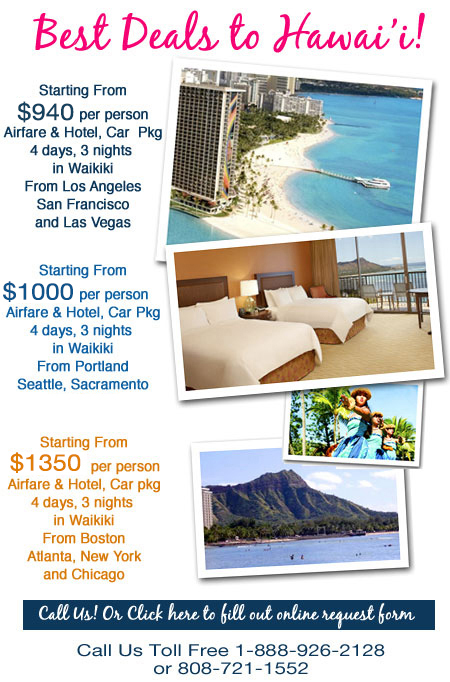 Discount Hawaii Travel