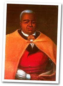 Portrait of Kamehameha the Great
